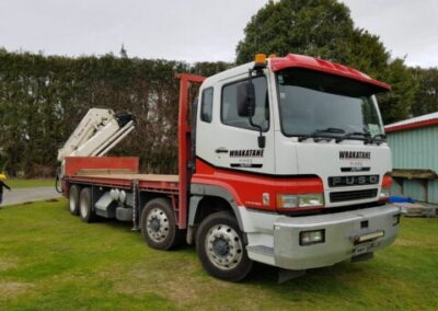 The Whakatane Hiabs Limited Truck