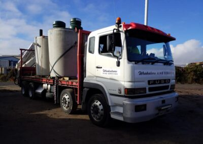 Delivery of Septic Tanks