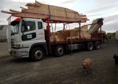 Transporting Timber Framing